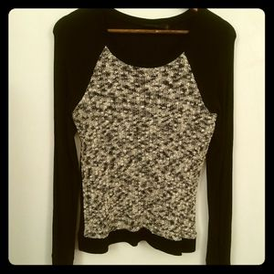 The Limited Raglan-Style Top